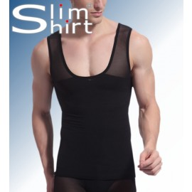Body Shirt | Verstevigt corrigerend shirt hemd voor mannen