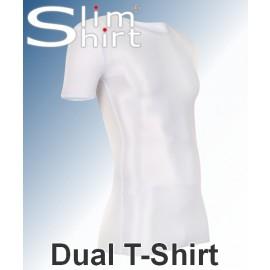 Dual T-Shirt | Figuurcorrigerend t-shirt voor mannen