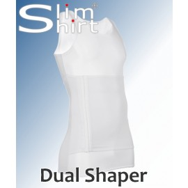 Dual Shaper | Extra strong slimming shapewear shirt/ vest for men.