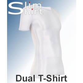 body shaper slimming compression t-shirt