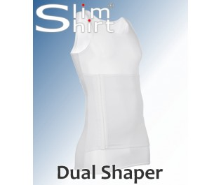 Figur formendes Shirt mit Bauchweggürtel Bauchweggurt