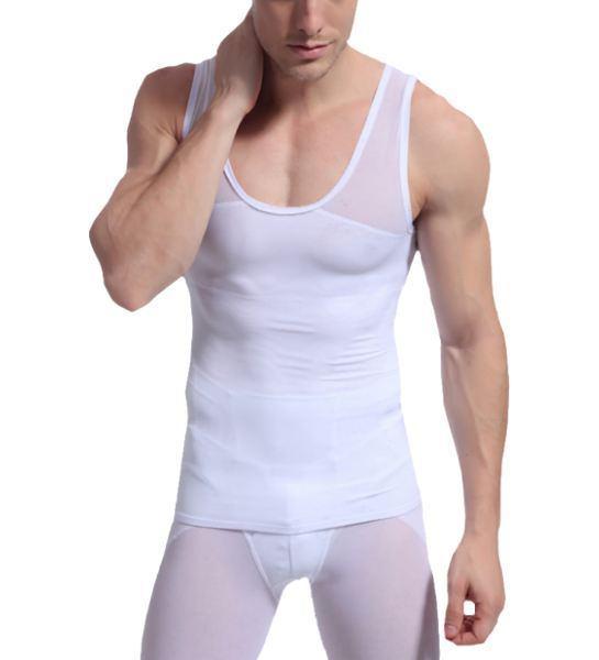 figuurcorigerend, corrigerend, ondergoed mannen shapewear hemd shirt shaper