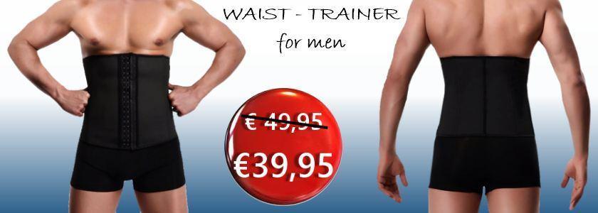 Waist trainer korset voor mannen heren